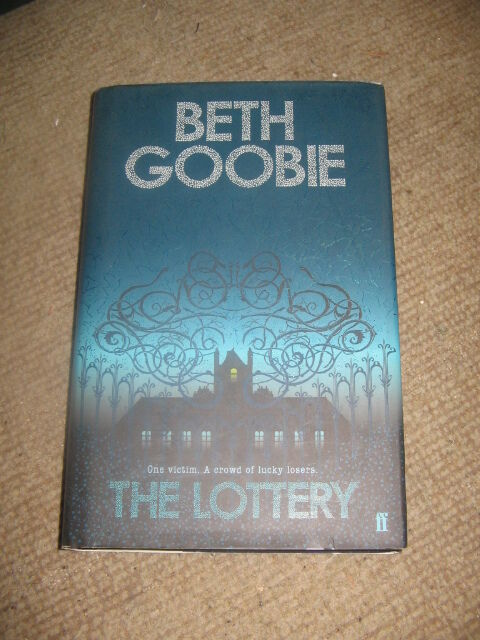 The Lottery by Beth Goobie HB 1st edition thriller novel for young adults