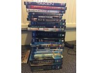 Assorted Blu rays and DVDs Bundle