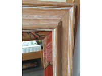 Decorative mirror 80cm heigh x 60cm wide