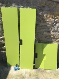 Fancy an IKEA Stuva wardrobe makeover with lime green doors and drawers?