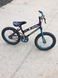"9"" frame boys bike"