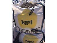 10mm Pea Gravel, Sharp Sand, Yellow Sand, Mixed Ballast (Dumpy Sacks)