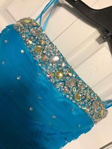 Short Blue Prom Dress For Sale