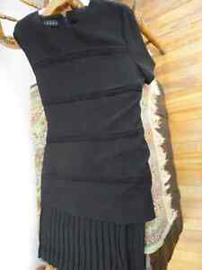 Black Dress   (pleated bottom