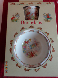Royal Doulton BUNNYKINS Set:   Never Used!   Only $12!