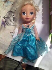 Disney Princess Toddler Doll Singing Talking Elsa Frozen