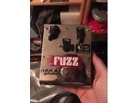 Akai Fuzz Drive 3 Guitar Pedal