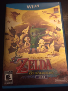 Jeux Nintendo Wii U THE LEGEND OF ZELDA THE WINDWAKER 45$