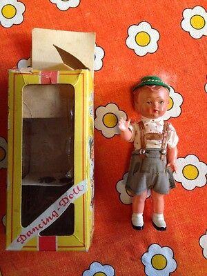 Selten Dancing Doll Bayer Original Verpackung Puppe Vintage
