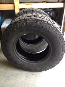 4 Toyo A/T Tires