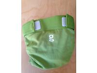 Washable nappies - Gnappies - green - medium - new