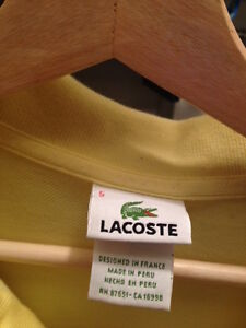 polo lacoste taille 5 lacoste