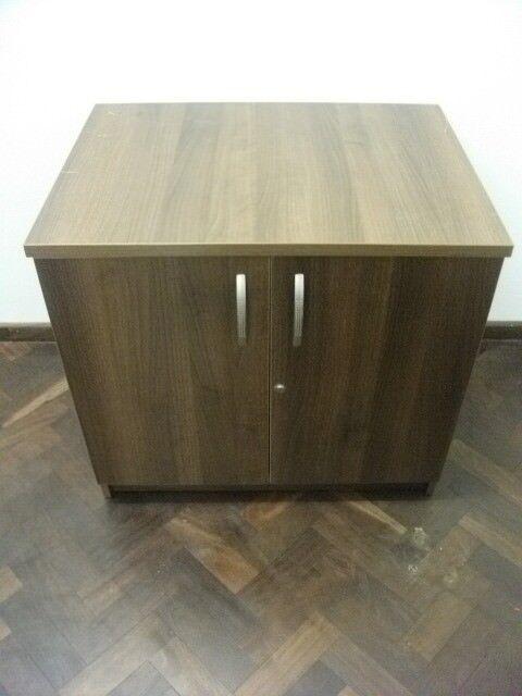 Storage Cupboard or Cabinet . Brown colour . Size : H=73cm , W=80cm , D=60cm