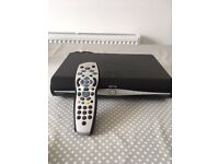 SKY + HD BOX WITH FREEVIEW CARD AND REMOTE