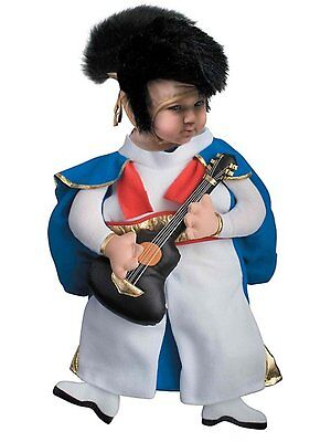 Rock-a-Bye Baby Elvis Presley Dress Up Halloween Infant Bunting Child Costume
