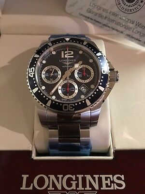 Longines HydroConquest Automatic Chronograph L37444966 (AD Purchase 9/3/16 )