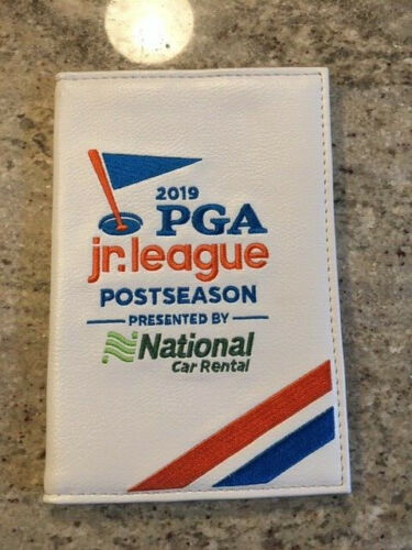 2019 PGA Jr. League Golf Scorecard Holder