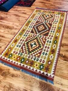 Afghan Choobi Wool Kilim Rug 100*200