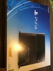 Playstation 4 PS4 Hardly Used BOXED LIKE NEW WITH RECEIPT, with BRAND NEW HEADSET AND FIFA 16.