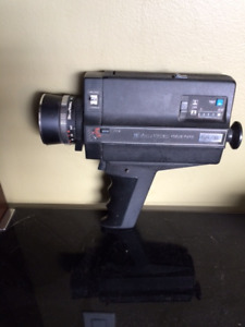 Bell and Howell Movie Camera and Projector