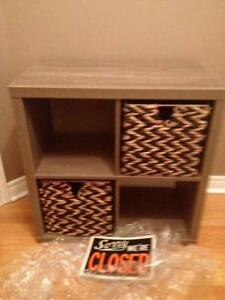 SOLID MULTI USE CUBICAL  BRAND NEW $50 RETAIL$129.99