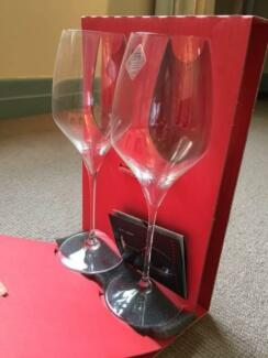 Boxed set 2 Riedel Vitis Riesling glasses