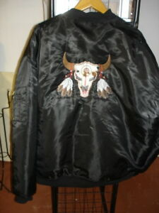 Indian Skull Men's winter jacket black West Island Greater Montréal image 3