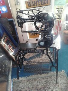 Antique SINGER leather sewing machine Ryde Ryde Area Preview