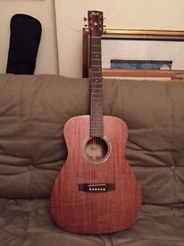 Cort L450C all-solid mahogany acoustic guitar