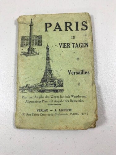 Paris in Vier Tagen (Four Days) German Language 1952