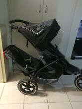 PHIL & teds double baby pram Hebersham Blacktown Area Preview
