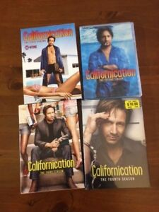 -- DVD Californication Collection --