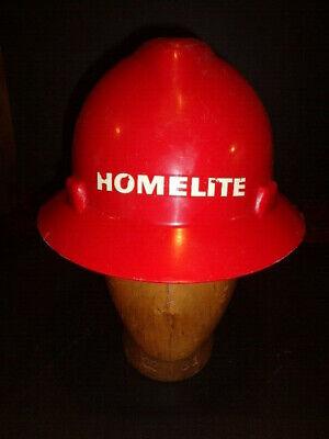 Vintage Homelite Chainsaw Logging Hard Hat Helmet