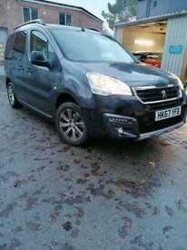 image for 2018 Peugeot Partner Tepee 1.2 PureTech Outdoor (s/s) 5dr MPV Petrol Manual