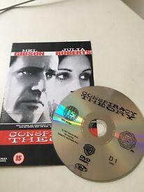 Conspiracy Theory DVD Mel Gibson Julia Roberts