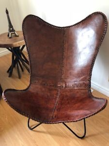TANNERY  LEATHER  HIGH QUALITY CHAIR