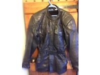 Richa Leather Motorcycle Jacket size 42