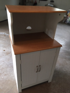 KITCHEN PANTRY/MICROWAVE STAND