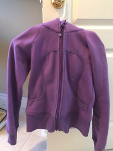 Lululemon Purple Hoodie Size 0-2