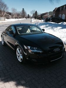 2008 Audi TT Coupe 3.2 Black/Tan. Noir/Beige