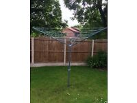 Rotary Outdoor washing line