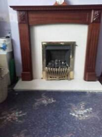 Has fire place for sale
