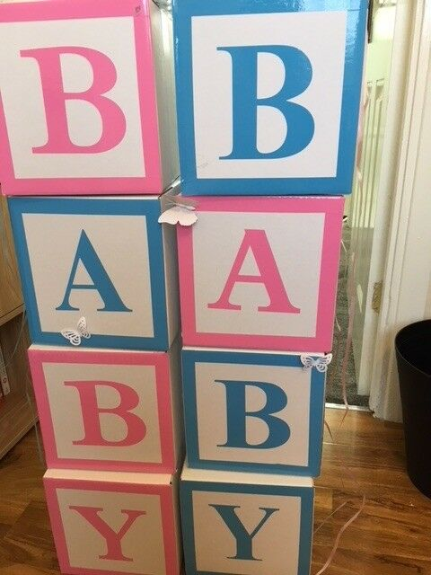 Baby Shower Blocks For Hire Only 163 30 Ideal For Baby
