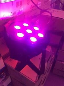 LED PAR TRI * RGBW * 7x4 WATTS * DMX - SLAVE - AUTO- SOUND * MEILLEUR PRIX **