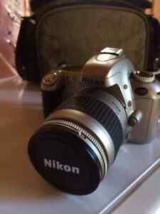 Nikon F55 camera with lens and case - hardly used