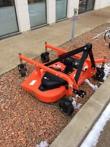 Rear Land Pride pull type mower