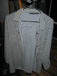ZARA BASIC BLACK & WHITE PATTERN SHIRT XL, MADE IN MOROCCO.VGC Dalyellup Capel Area Preview