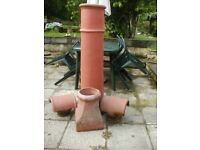 vintage chimney pots garden patio ornaments