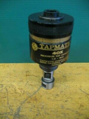 New Tapmatic 40x 12 Capacity Tapping Head Wcollet Wrench New