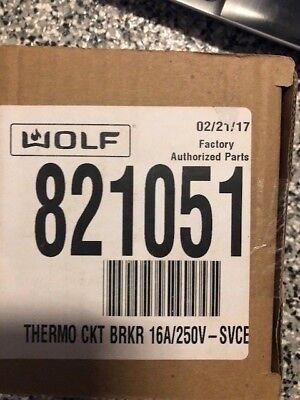 Wolf Oven Thermo Circuit Breaker 821051